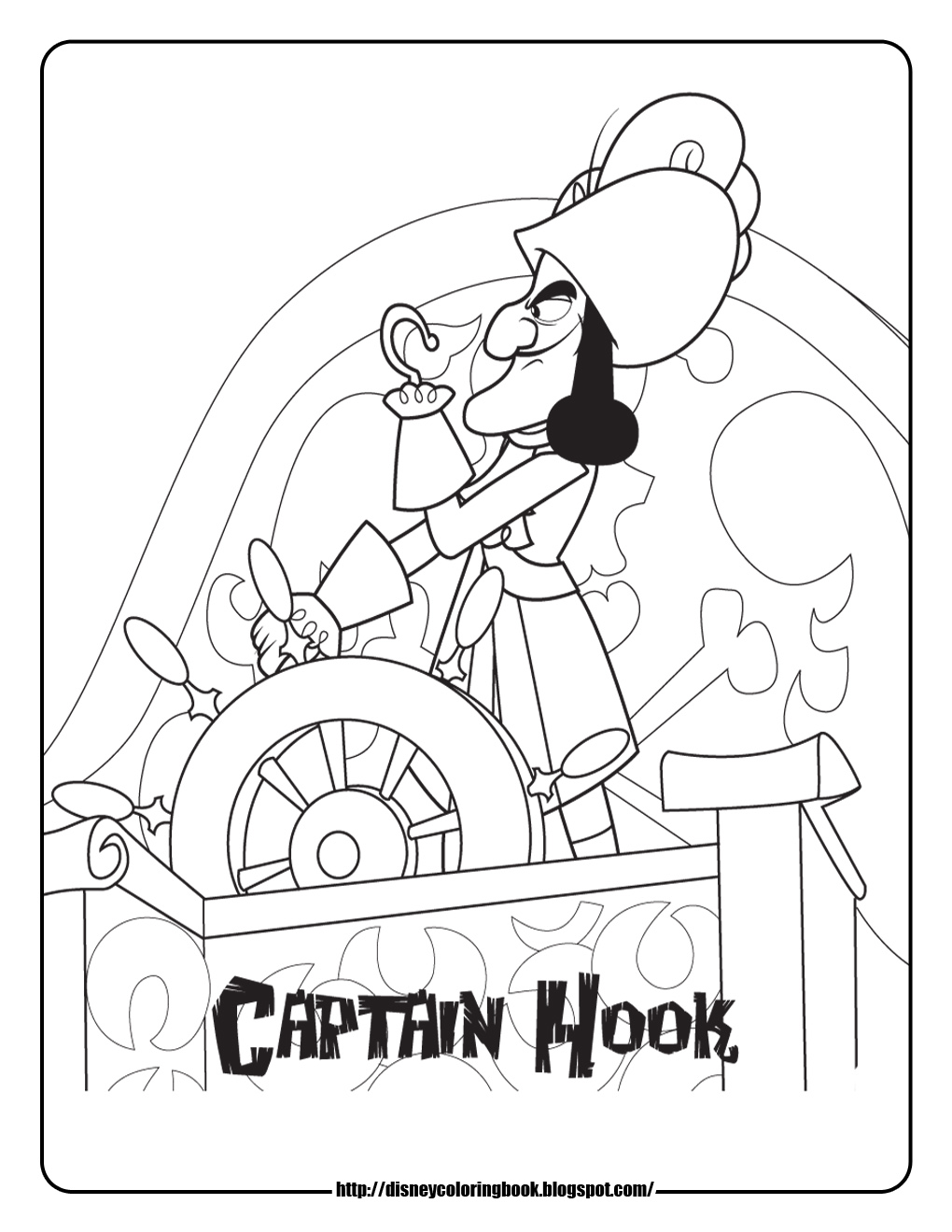 1020x1320 Disney Coloring Pages And Sheets For Kids Jake And The Neverland