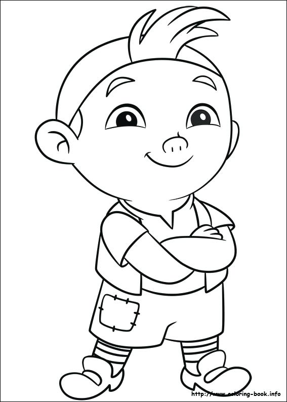 567x794 Pirate Coloring Pages