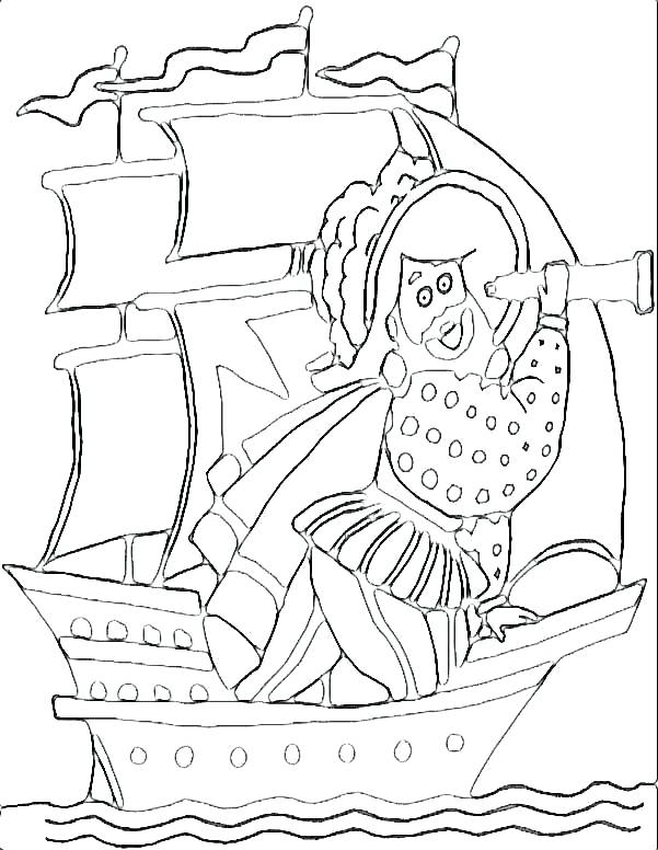 601x776 Pirate Coloring Page Beautiful Pirate Coloring Pages For Preschool