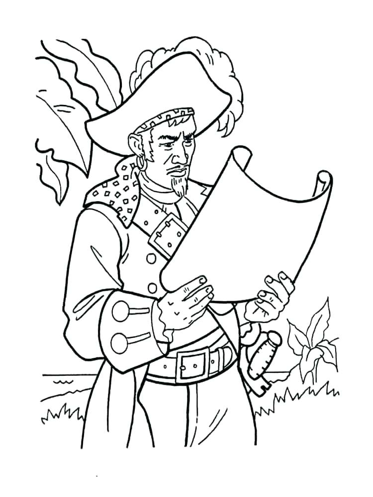 750x1000 Pirate Coloring Pages Pirates Of The Coloring Page Pirates