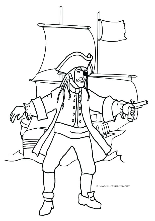 618x878 Pirate Colouring Pages Preschool Treasure Chest Coloring Page Free