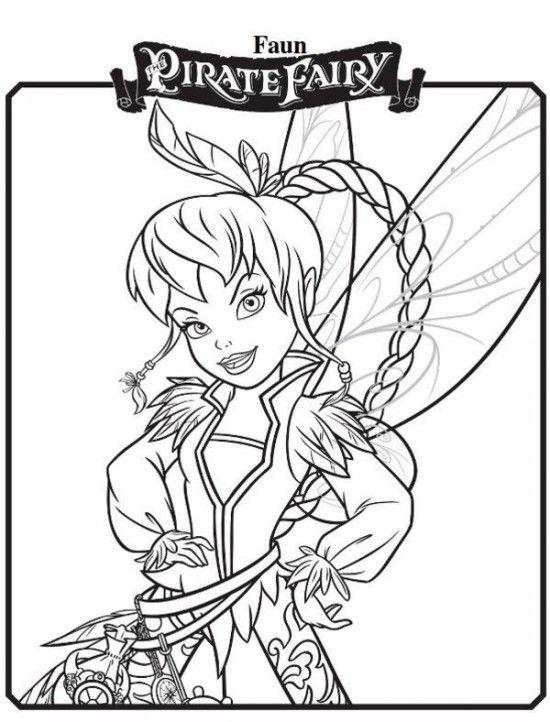 550x722 Free Printable Disney Fairy Coloring Pages Printable Disney