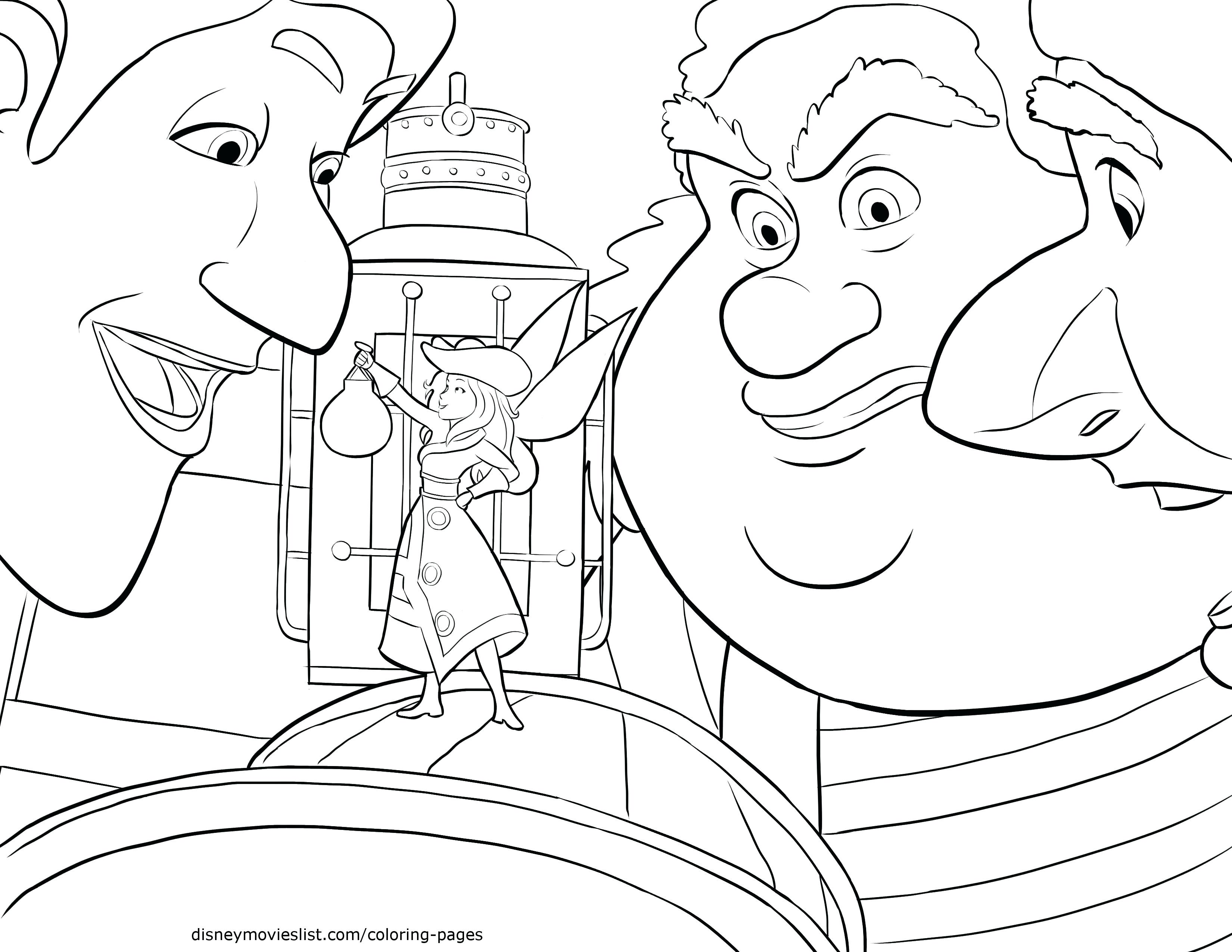 3300x2550 Pirate Fairy Coloring Pages Pirates And Tinkerbell Images