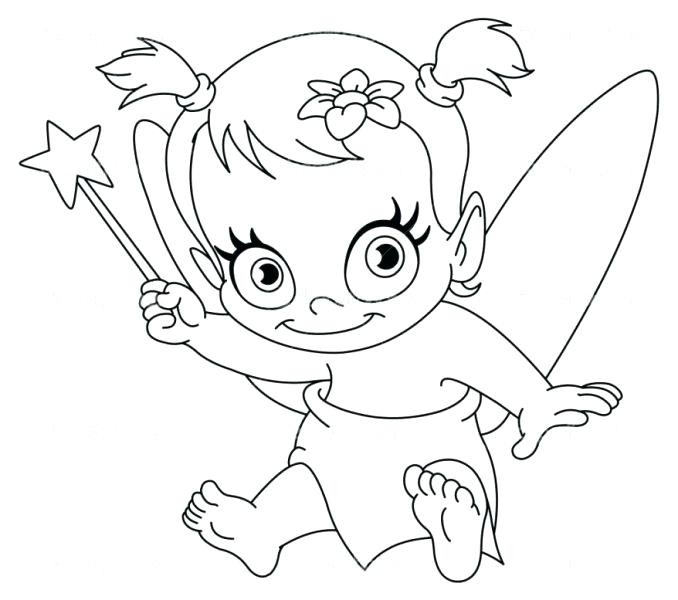 678x600 By Fairy Coloring Pages Fairy Coloring Pages Awesome Page