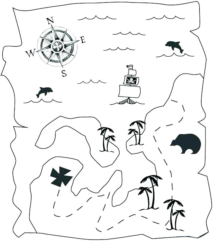710x800 Jolly Roger Pirate Flag Coloring Page Pirate Coloring Page Pirate