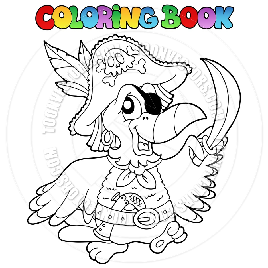 940x940 Pirate Parrot Coloring Pages At Glum Me Entrancing Inside