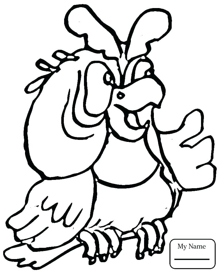 765x952 Parrot Coloring Pages Coloring Pages Parrot Animals Free Printable