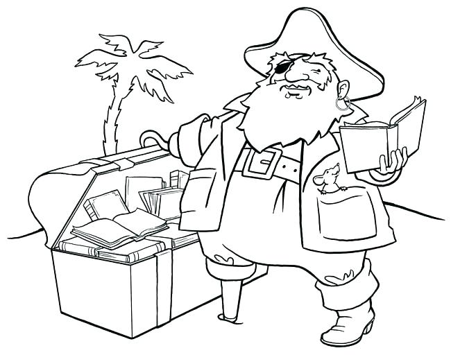 650x512 Jake Neverland Pirates Printable Coloring Pages Pirate Ship Book