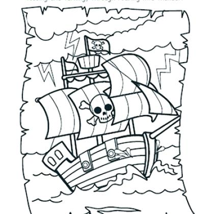 420x420 Pirate Ship Coloring Coloring Pages For Kids My Very Own House