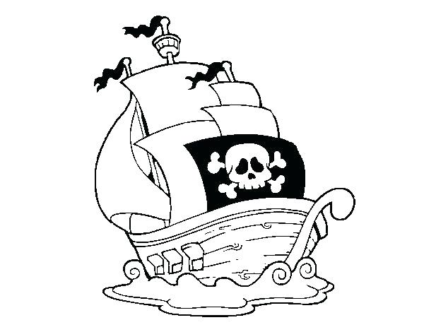 600x470 Pirate Ship Coloring Pages Pirate Ship Coloring Pages Coloring