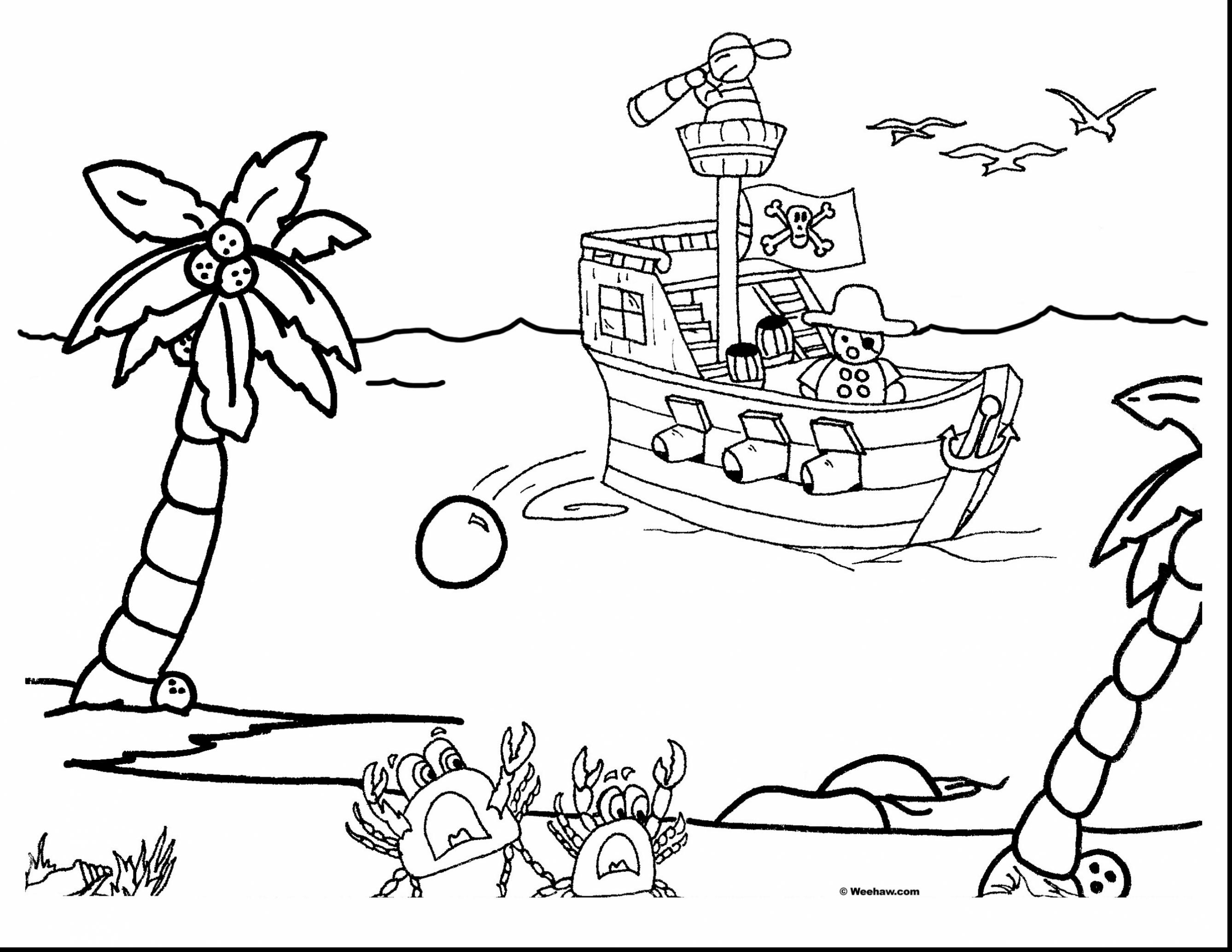 2675x2066 Bucky The Pirate Ship Coloring Pages Dringrames Download