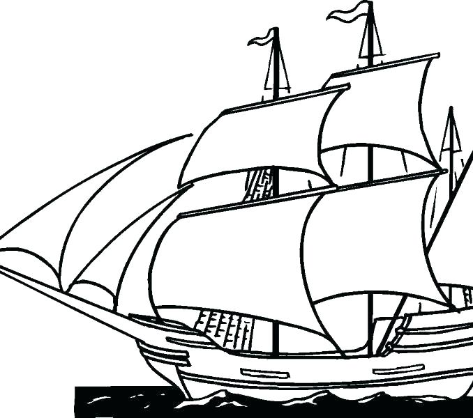 678x600 Pirate Ship Coloring Pages Free Printable Black History Coloring