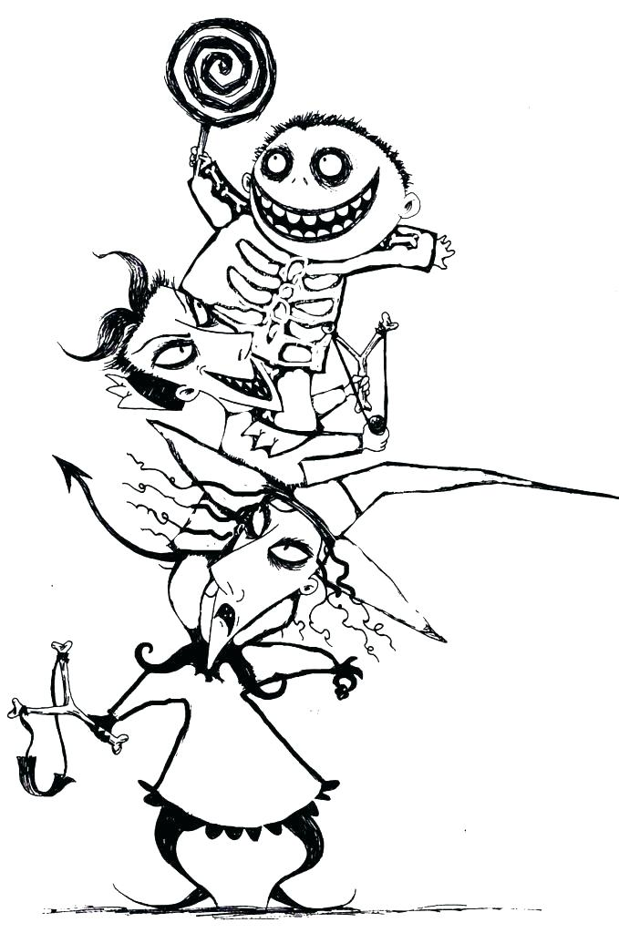 679x1024 Skeleton Coloring Page Skeleton Winter Coloring Pages Skeleton