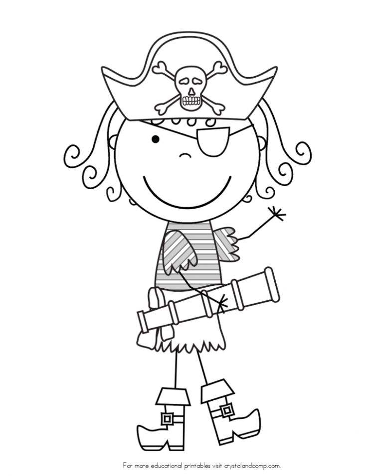 Pirate Themed Coloring Pages At Getdrawings Com Free For Personal