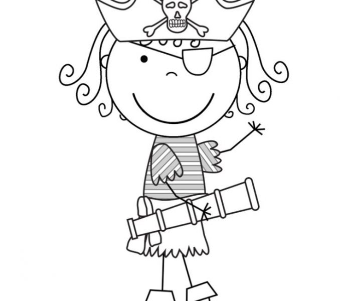 Pirate Themed Coloring Pages at GetDrawings.com | Free for ...