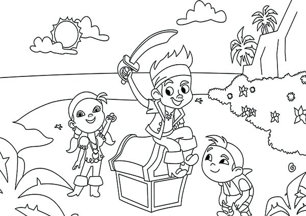 600x424 Jack The Colouring Pages Party Ideas The Pirates