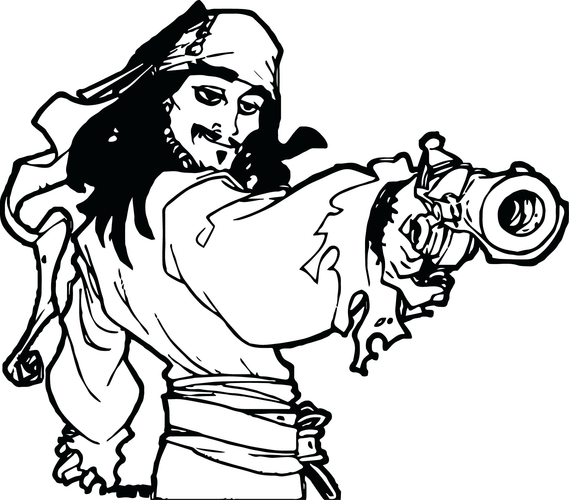 1961x1723 Disney Pirates Of The Caribbean Jack Sparrow Coloring Page