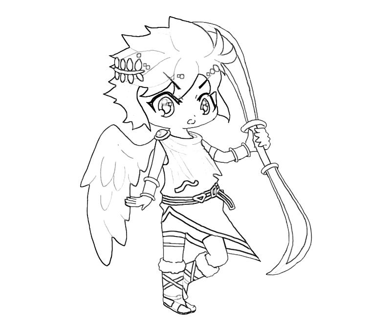 pit coloring pages at getdrawings free for personal use pit Metroid Super Smash Bros 800x667 kid icarus dark pit weapon mario