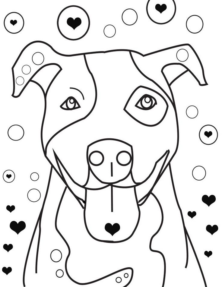 736x952 Pitbull Coloring Pages Coloring Pages Coloring Pages