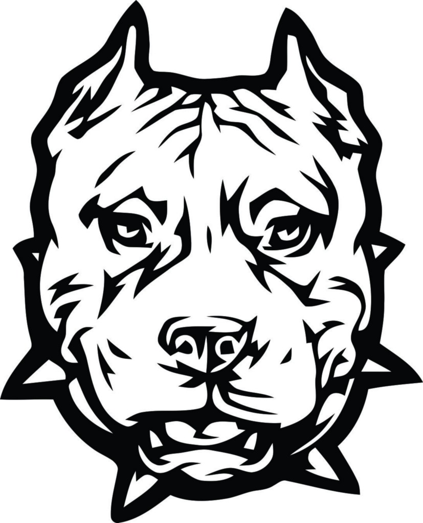 827x1024 Pitbull Coloring Pages To Download And Print For Free