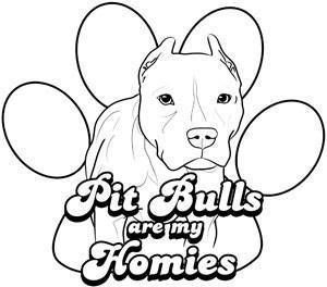 300x264 Pitbull Puppy Coloring Pages