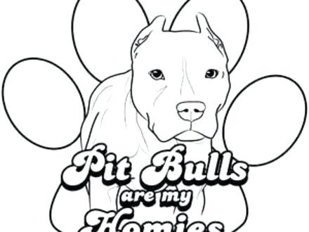 440x330 Pit Bull Coloring Pages Dog Colouring Pages Coloring Pages