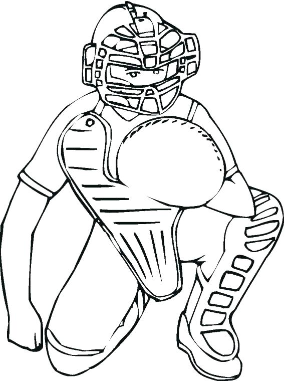 569x760 Baseball Player Coloring Pages Baseball Pitcher Kid Baseball
