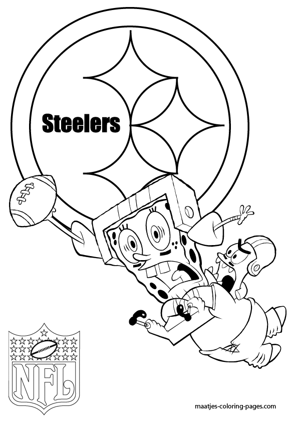595x842 Pittsburgh Steelers Coloring Pages Pittsburgh Steelers Coloring