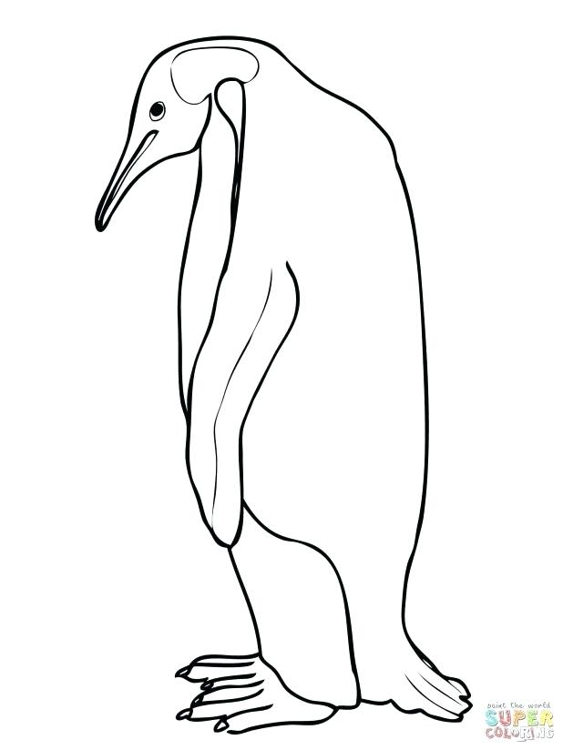 618x824 Pittsburgh Penguins Coloring Pages Click The Emperor Penguin