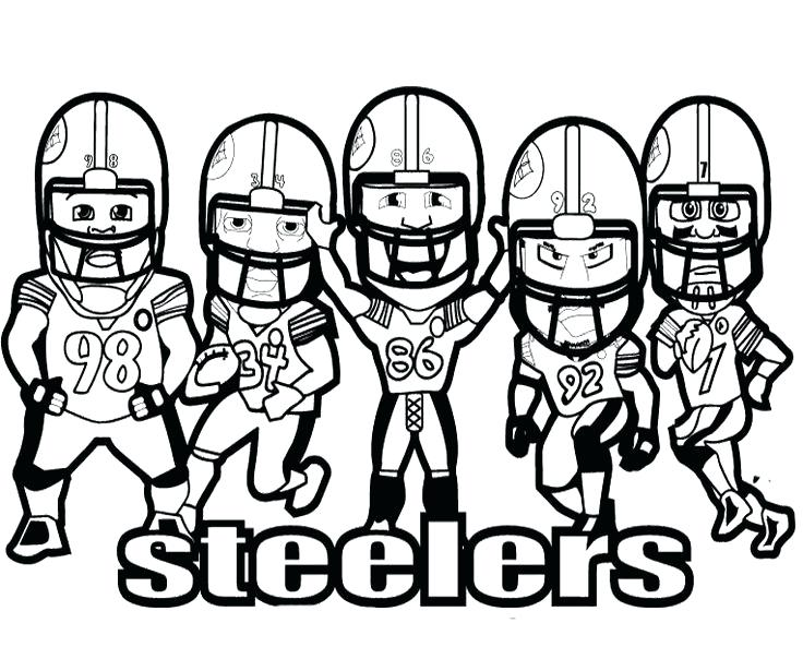 736x604 Pittsburgh Steelers Coloring Pages Trend Coloring Pages