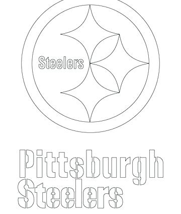 360x425 Pittsburgh Steelers Para Colorear Coloring Pages Logo Coloring