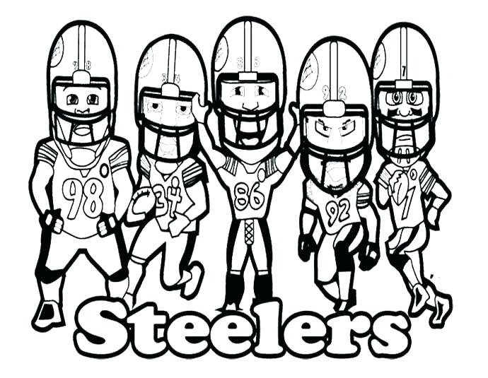 690x535 Steelers Coloring Pages Coloring Pages Realistic Coloring Pages