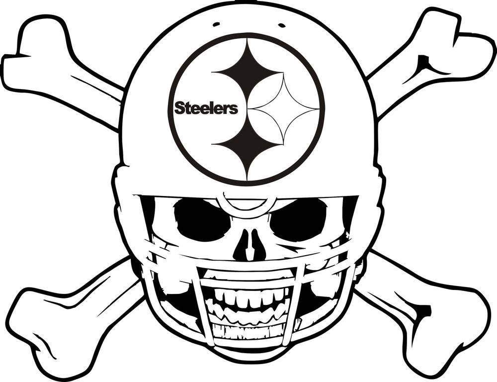 1000x768 Steelers Coloring Pages Steelers Coloring Pages