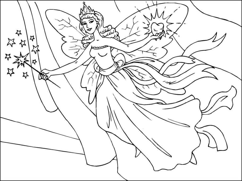 1024x768 Special Pixie Hollow Coloring Pages Page Fairies Free Fairy
