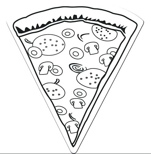 493x500 Dklt Coloring Pages Coloring Page Pizza Pizza Coloring Page