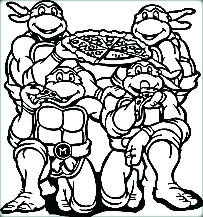 805x858 Pizza Color Sheet Pizza Coloring Pizza Coloring Pages Coloring