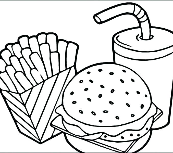 678x600 Coloring Page Pizza Pizza Coloring Pages Pizza Coloring Page