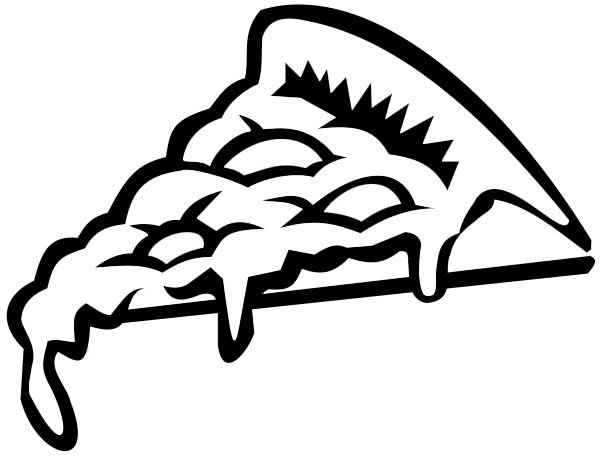 605x460 Pizza Coloring Pages
