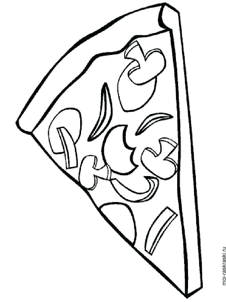 750x1000 Steve Coloring Pages Pizza Coloring Pages Pizza Coloring Pages