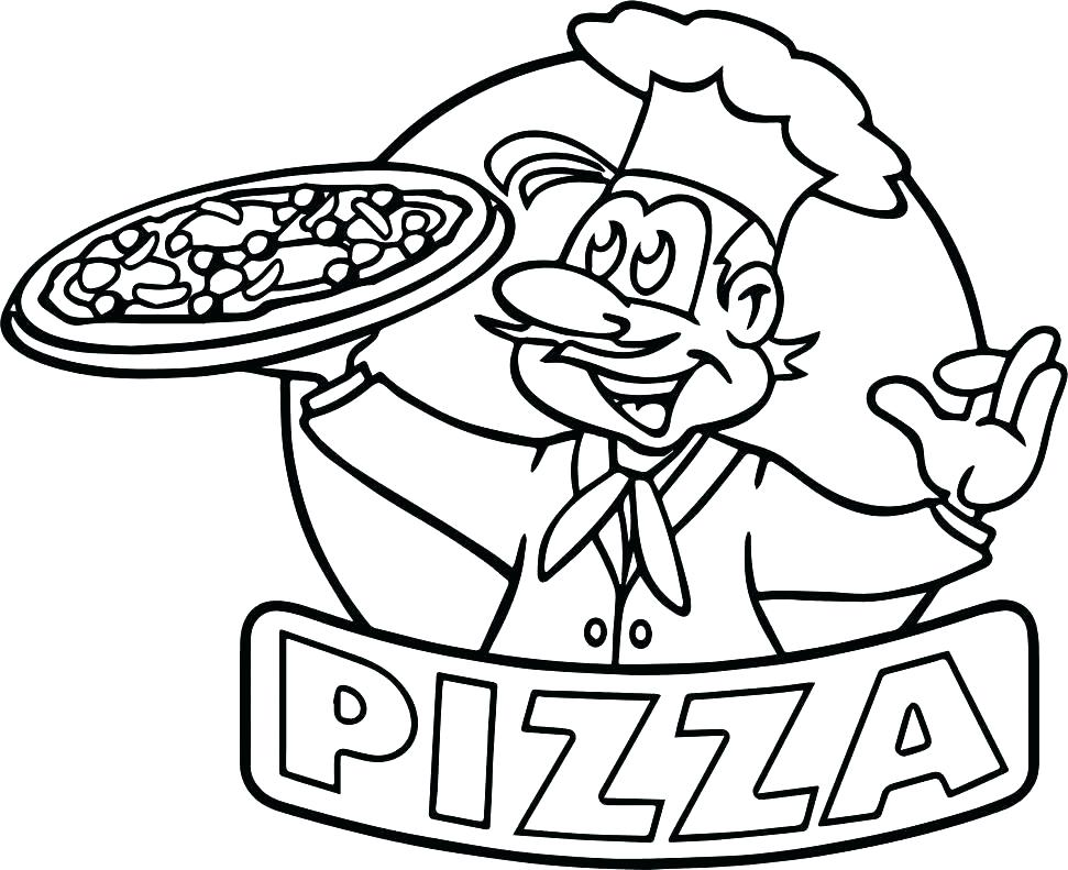 971x791 Dklt Coloring Pages Coloring Page Pizza Coloring Page Pizza