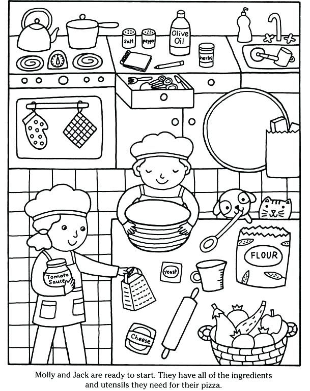 609x770 Pizza Coloring Page Piels Pizza Coloring Pages Preschool