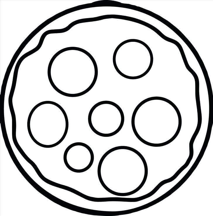 728x739 Pizza Coloring Page Pizza Coloring Pages Pizza Ingredients
