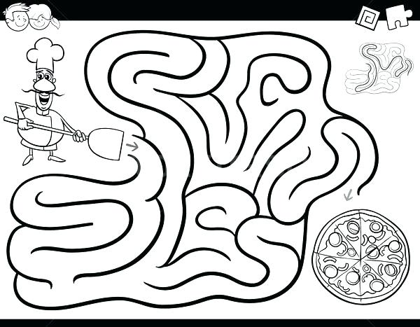 600x467 Pizza Coloring Pages Coloring Pages Of Pizza Coloring Pages Pizza