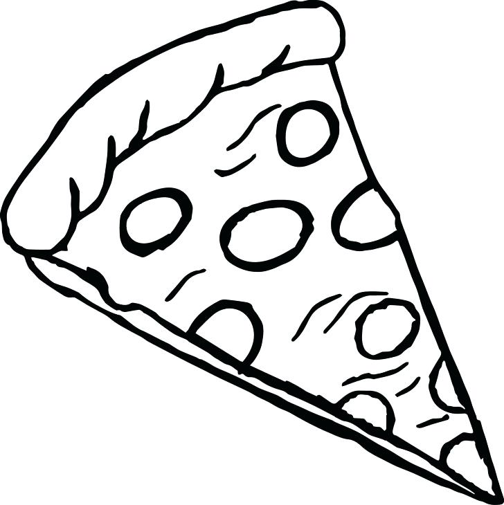 728x730 Pizza Coloring Pages Holding A Pizza Coloring Pages Pizza Party