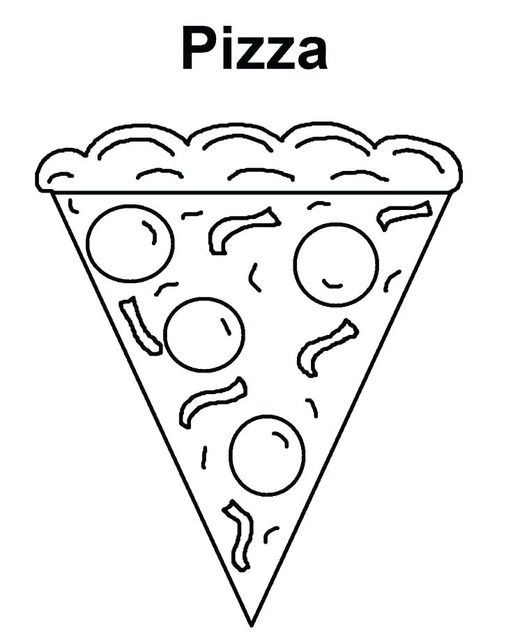 736x906 Pizza Coloring Pages Pizza Coloring Pages Coloring Pictures