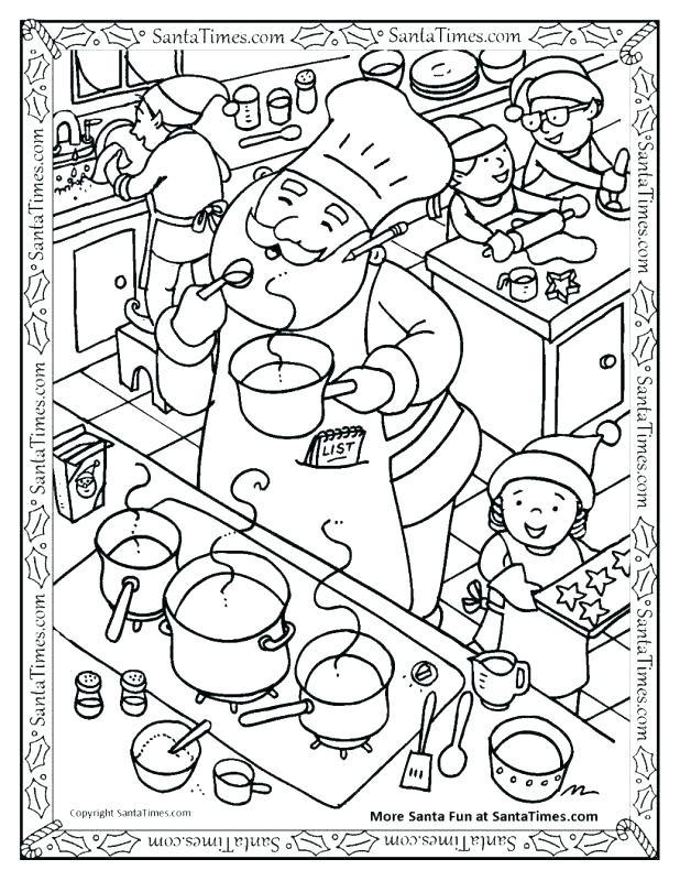 618x800 Pizza Coloring Pages Preschool Unique Cooking Coloring Page
