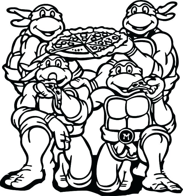 618x659 Coloring Pages Pizza