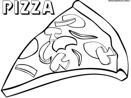 440x330 Coloring Pages Pizza Pizza Coloring Pages Coloring Pages