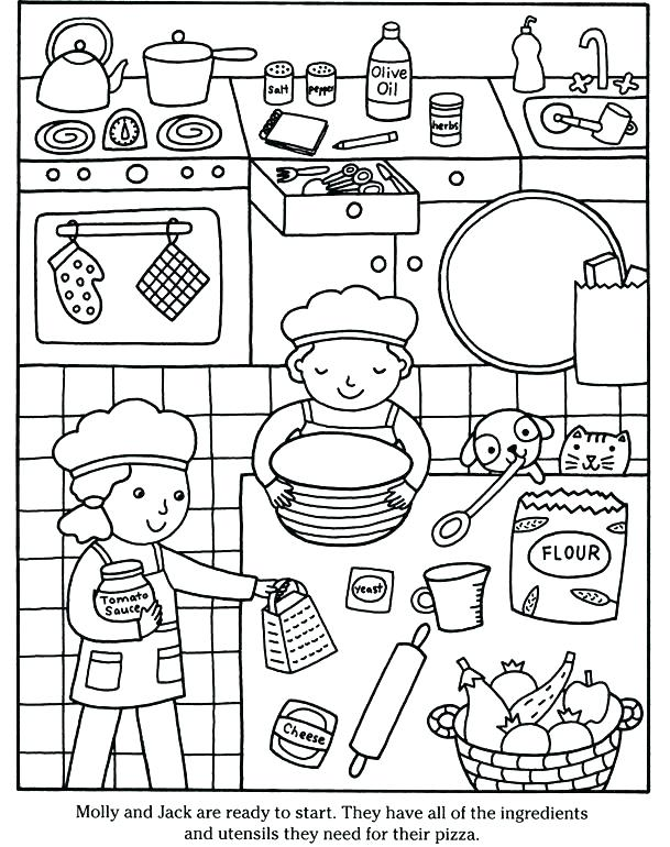 609x770 Pizza For Coloring Shape Pizza Colouring Activity Shape Pizza