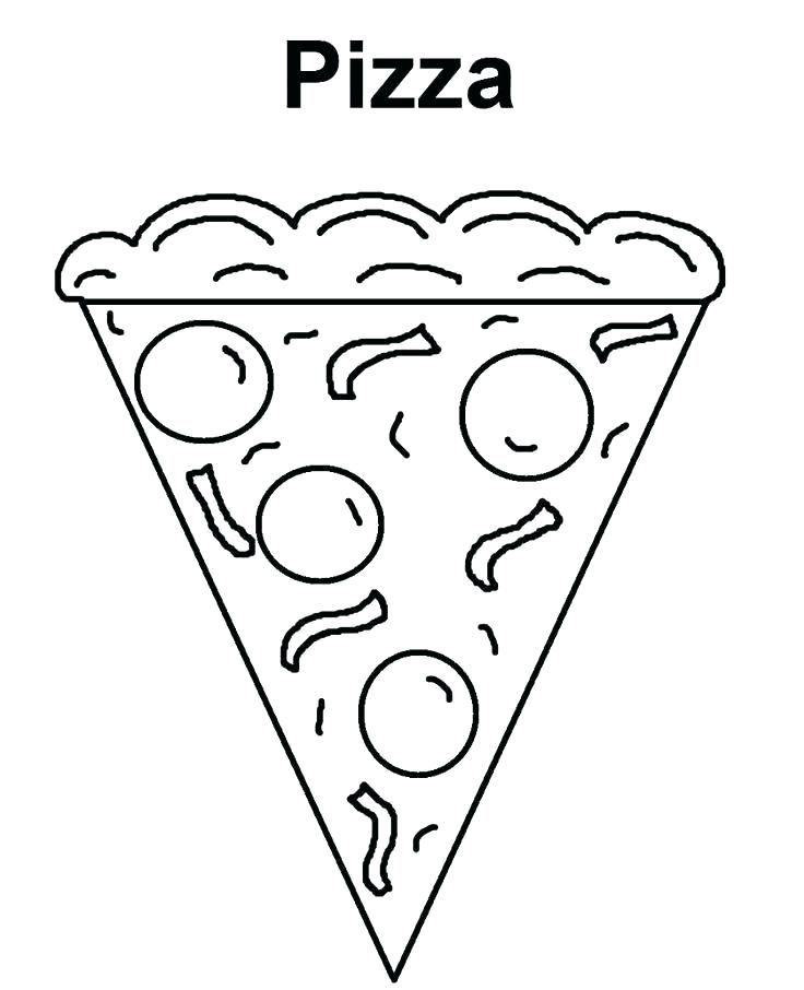 736x906 Coloring Pages Pizza Coloring Pictures Of Pizza Pizza Coloring